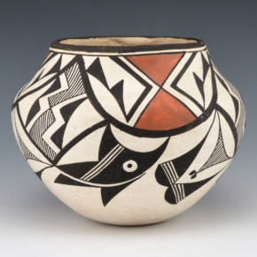 Chino, Marie Z. – Jar with Acoma Birds