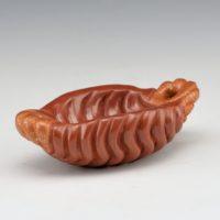 Youngblood, Nancy – Red Mini Swirl Melon Rib Open Bowl