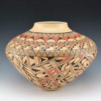 Silas, Venora – Large Jar with Geometric Designs
