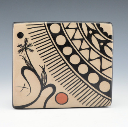 Ortiz, Virgil – Corn Plant and Cochiti Designs Tile