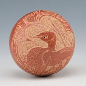Haungooah, Art Cody – Seedpot with Duck
