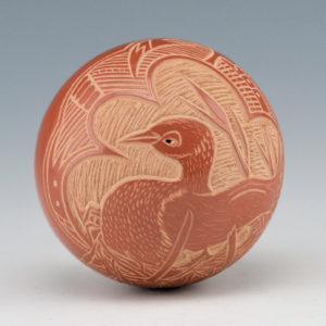 Haungooah, Art Cody – Seedpot with Duck