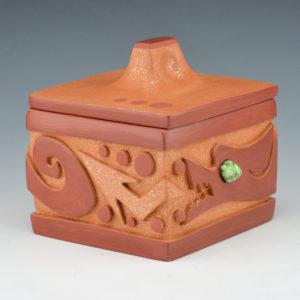 Borts-Medlock, Autumn  – Box with Avanyu
