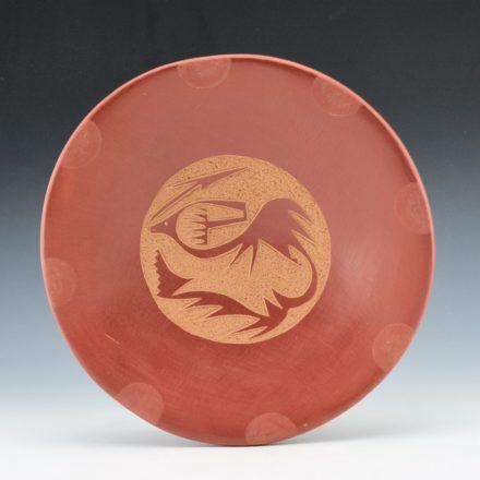 Tse-Pe, Jennifer Sisneros – Plate with Avanyu