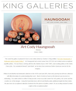Newsletter Art Cody