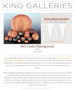 Newsletter Art Cody