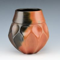 Manymules, Samuel  – Small Faceted Jar