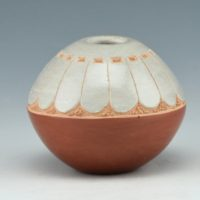 Haungooah, Art Cody – Seedpot with Feather Design (1978)