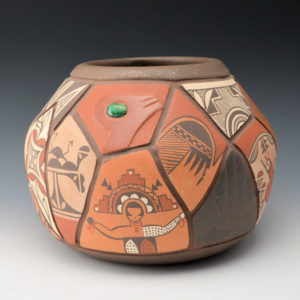 "Candelaria, Daryl – Pottery ""Shard"" Design Bowl"