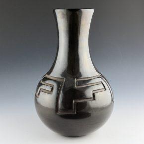 Ebelacker, James – Long Neck Jar with Mesa Design