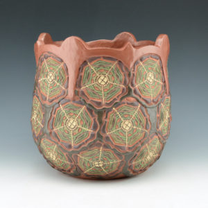 Zane Smith, Jamie – Iroquois Jar with Flower Design