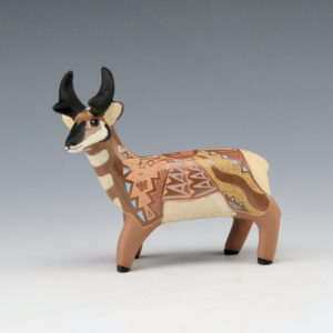 Moquino, Jennifer – Brown Antelope Figure