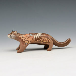 Moquino, Jennifer – Brown Mountain Lion Figure