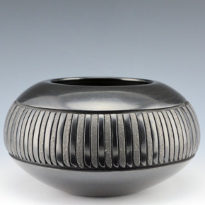 Tafoya-Sanchez, Linda – Bowl with 96 Feathers