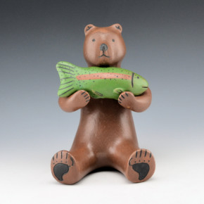 Wall, Marcus – Brown Bear with Fish