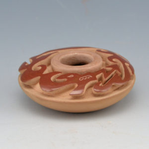Youngblood, Nancy – Miniature Carved Avanyu Bowl (1980)