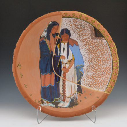 "Folwell, Susan – ""The Wedding"" Large Open Bowl"