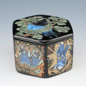 Moquino, Jennifer – Six Sided Box with Birds