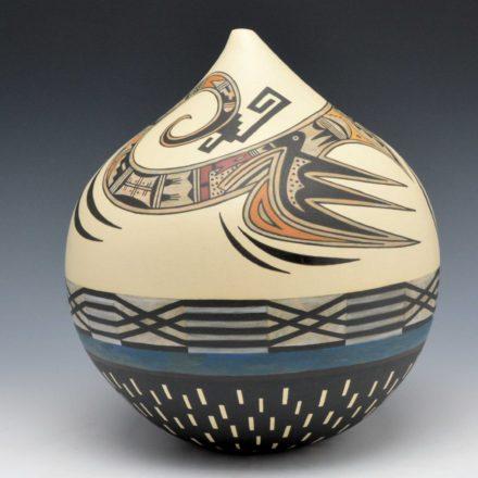 Namingha, Les – Spiraling Hopi Birds Jar