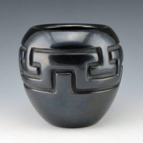 Tafoya, Margaret – Jar with Key Hole Doorway Design (1940's)