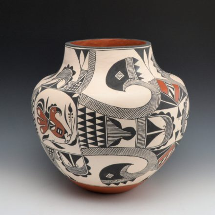 Aragon, Rachel – Fine Line Water Jar with Birds
