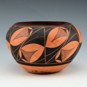 Analla, Calvin – Bowl with Rain Patterns