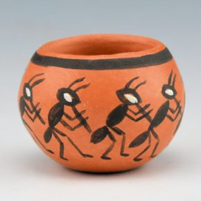 Naha-Nampeyo, Cheryl – Red Bowl with Ants