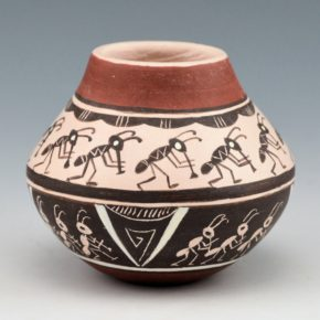Naha-Nampeyo, Cheryl – Jar with Double Row of Ants