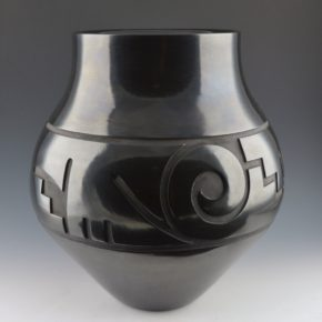 Whitegeese, Daryl  – Large Water Jar with Cloud Motifs