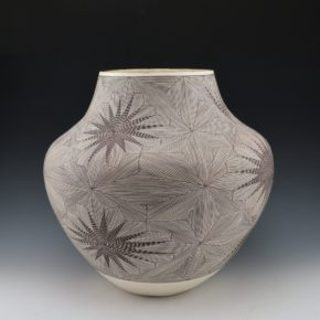 Peters, Franklin – Water Jar with Star Burst Fineline Designs