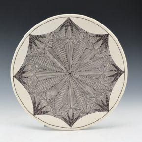 Peters, Franklin – Plate with Starburst Pattern