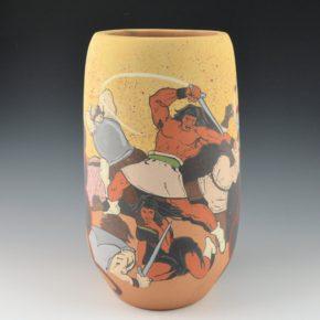 Garcia, Jason – Pueblo Revolt 1680 Jar
