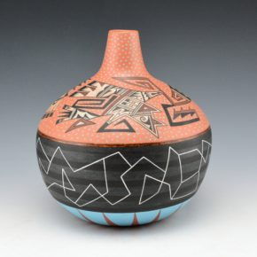 Namingha, Les – Hopi Birds at Sunset Jar