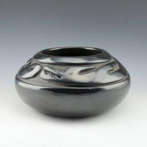 Tafoya, Margaret – Bowl with Carved Avanyu (1930's)