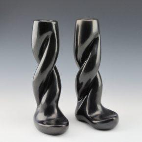 Tafoya, Margaret – Pair of Candlesticks (1950's)