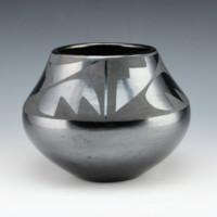 Martinez, Maria  – Bowl with Rain & Mountain Design (1940's)