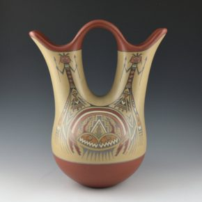 Gutierrez, Margaret & Luther – Wedding Vase (1970's)