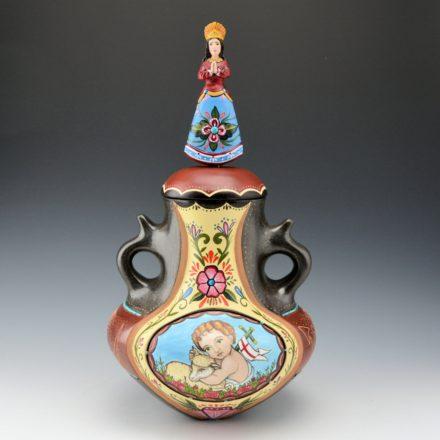 Sanchez, Russell & Arthur Lopez – Immaculate Conception & Avanyu Jar
