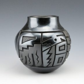 Begay, Jr., Harrison – Jar with Yei Figure
