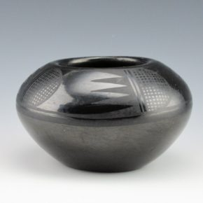 Roybal, Juan Cruz – Bowl with Bird Wing Designs (1940's)