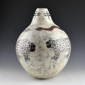 "Namingha, Les – ""Zuni Animals Jar"" Jar"