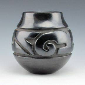 Tafoya, Margaret – Jar with Cloud and Rain Designs (1980's)