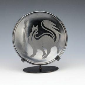 "Martinez, Maria – ""Skunk"" Plate (Maria + Popovi,1956-9)"