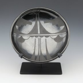 Gonzales, Ramona Sanchez – Plate with Bird Design (1920's)