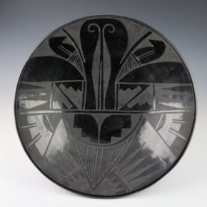 Aguilar, Susana – Large Plate with Butterfly Design (1920's)