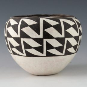 Lewis, Lucy – Bowl with Bird Wing Design (1970's)