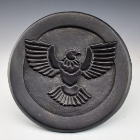 Youngblood, Christopher – Plate with Carved Eagle