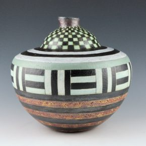 Namingha, Les – Jar with Corn Design & Rain Patterns