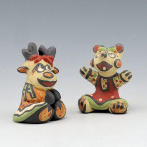 Gutierrez, Margaret  – Deer & Bear Figures (1989 & 90)
