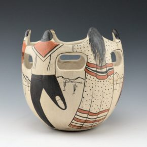 Angea, Rubert – Large Friendship Bowl with 6 Figures